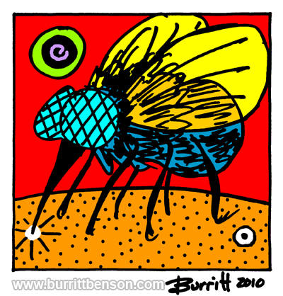 "8.5"" x 11"" BEB Digital Art Print, 2010"