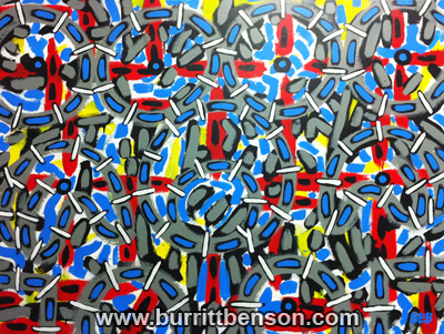Burritt Benson Art, Burritt Benson Painting, acrylic painting, contemporary abstract painting
